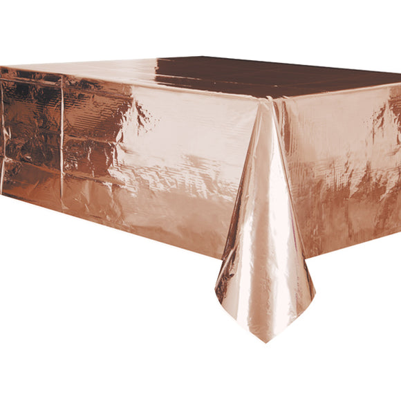 Wholesale 'Metallic Rose Gold' Table Cover