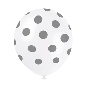 Wholesale 'Silver Dot' Balloons