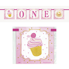 '1st Birthday Princess' Card Banner