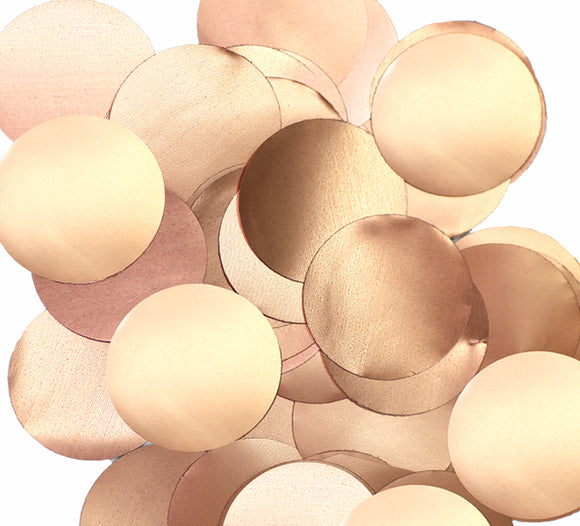 Wholesale Rose Gold Foil Table / Balloon Confetti (Large - 14g)