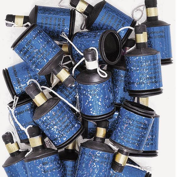 Wholesale Blue Holographic Party Poppers
