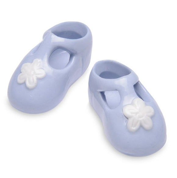 Wholesale Porcelain Booties (Blue)