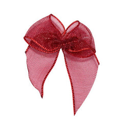 Decorative Adhesive Bows (Burgundy)