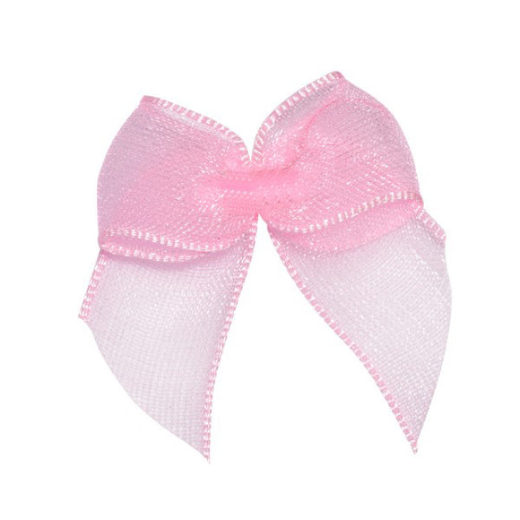 Wholesale Decorative Adhesive Bows (Pink)