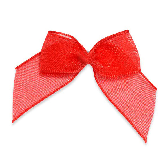 Wholesale Decorative Adhesive Bows (Red)