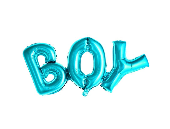Wholesale Blue 'Boy' Balloon Banner Kit