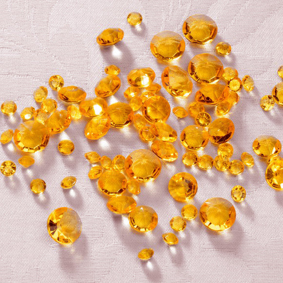 Wholesale Gold Table Crystals / Scatter Crystals - Mixed Sizes