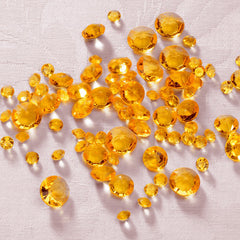Gold Table Crystals / Scatter Crystals - Mixed Sizes
