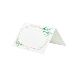 Geo Botanics Place Cards - 10 Pack