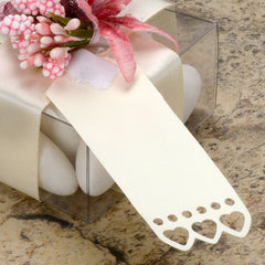 Heart Edge Gift Tags (Ivory)