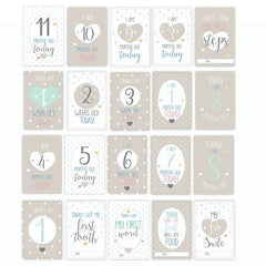 'Oh Baby' Milestone Cards
