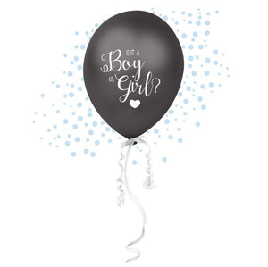 Wholesale 'Oh Baby' Gender Reveal Confetti Balloon (Blue)