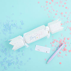 'Oh Baby' Gender Reveal Cracker