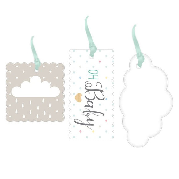 Wholesale 'Oh Baby' Gift Tags (Unisex)