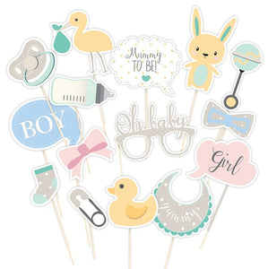Wholesale 'Oh Baby' Photo Booth Props (Unisex)