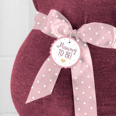 'Ready To Pop' Mummy To Be Sash (Pink)