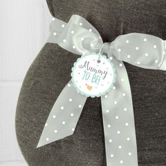 'Ready To Pop' Mummy To Be Sash (Unisex)