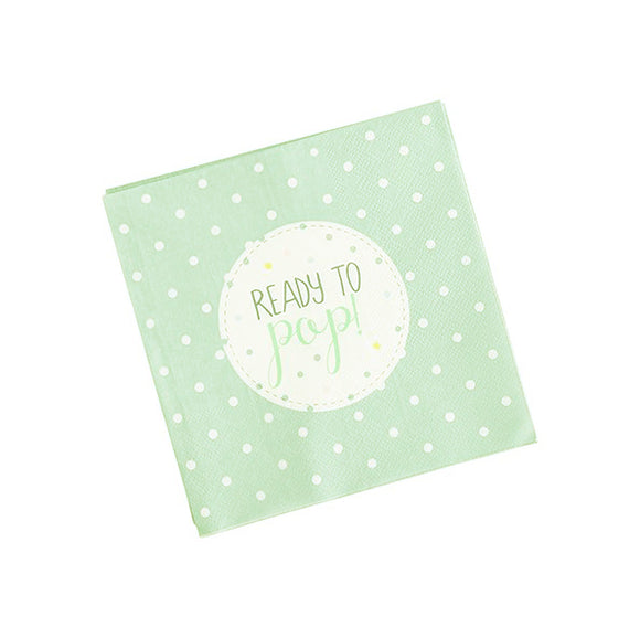 Wholesale 'Oh Baby' Paper Napkins (Unisex)