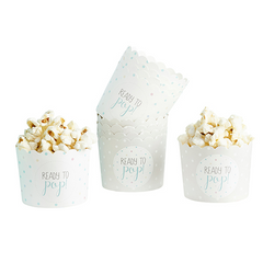 'Oh Baby' Paper Food Cups (Unisex)