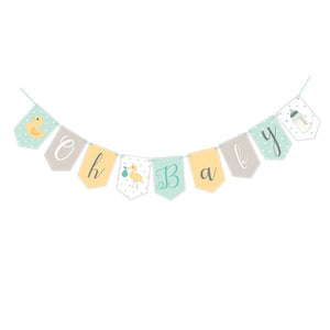Wholesale 'Oh Baby' Baby Shower Bunting (Unisex)