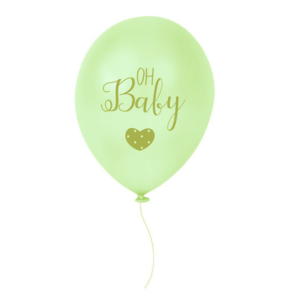 Wholesale 'Oh Baby' Balloons (Unisex)