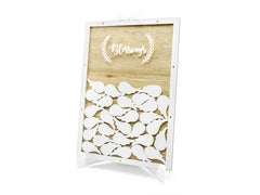 Wooden Guest Book - Blessings
