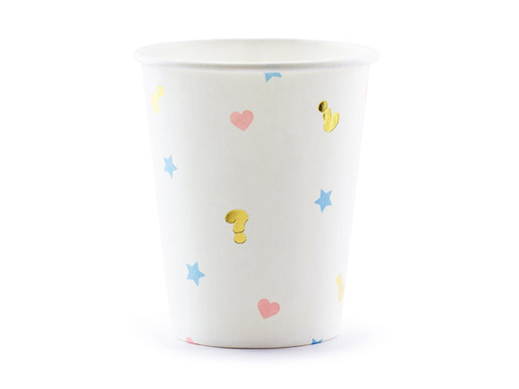 Girl Or Boy ? Paper Cups - 6 Pack