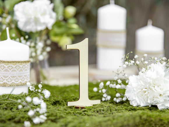 Wholesale Wedding Wooden Table Numbers