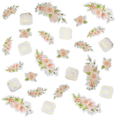 Geo Floral Card Table Sprinkles