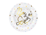 Boy or Girl ? Paper Plates - 6 Pack