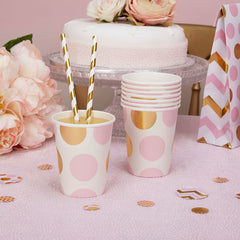 'Pattern Works' Paper Cups - Pink