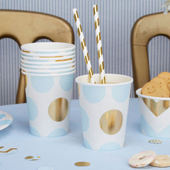 'Pattern Works' Paper Cups - Blue