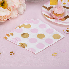 'Pattern Works' Napkins - Pink
