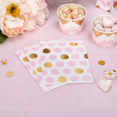 'Pattern Works' Sweetie Bags - Pink