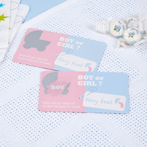 Wholesale Gender Reveal Scratch Cards - Boy