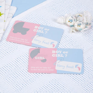Wholesale Gender Reveal Scratch Cards - Girl