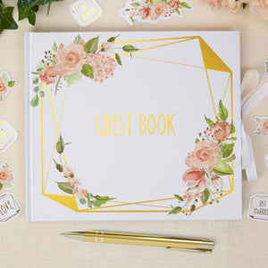 WHOLESALE Geo Floral Guest Book