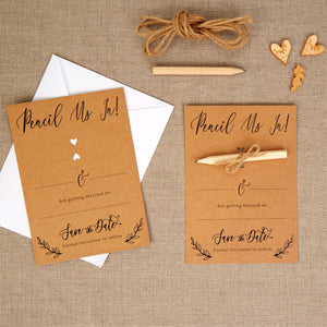 Wholesale Hearts and Krafts Save The Date Cards