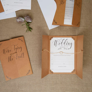 Wholesale Hearts and Krafts Wedding Invitations