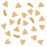 Hearts and Krafts Wooden Table Confetti