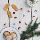Wholesale Wooden Christmas Table Confetti - 24 Pieces