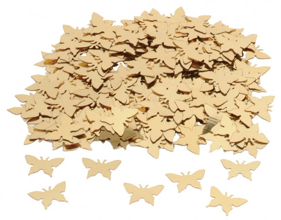 Gold Butterfly Table Confetti