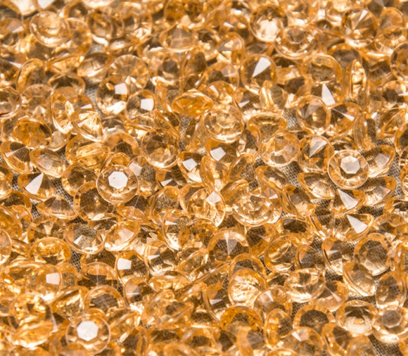 Gold Table Crystals / Scatter Crystals (6mm)