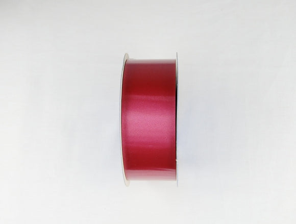 Burgundy Polypropylene Ribbon (50 mms x 100 Yards)