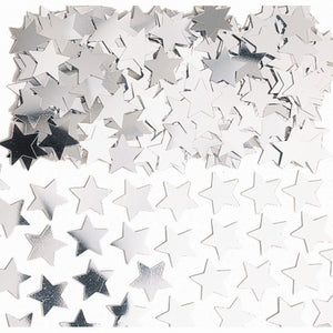 Silver Star Table Confetti