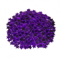 Purple Star Table Confetti
