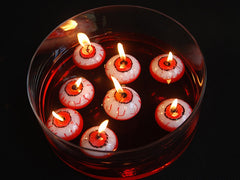 Floating Eyeball Candle