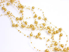 Pastel Gold Beaded Garlands (5)