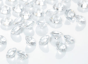 Clear Diamantes / Table Crystals (6mm)