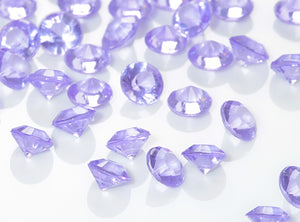 Purple Diamantes / Table Crystals (6mm)